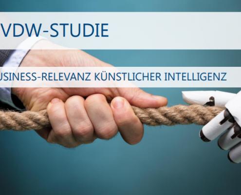 Business Relevanz von künstlicher Intelligenz (BVDW-Umfrage)
